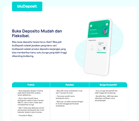 fitur bludeposit diazbela Review Aplikasi blu Review Jujur Aplikasi blu Aplikasi blu by BCA Digital